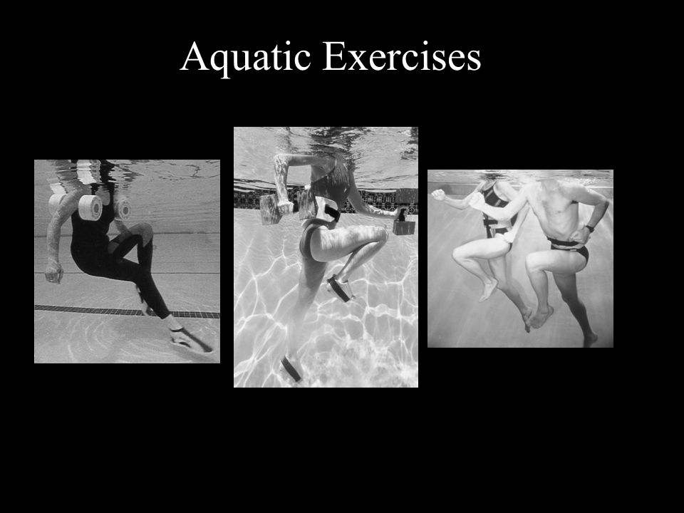 Aquatic Exercises © 2009 McGraw-Hill Higher Education.