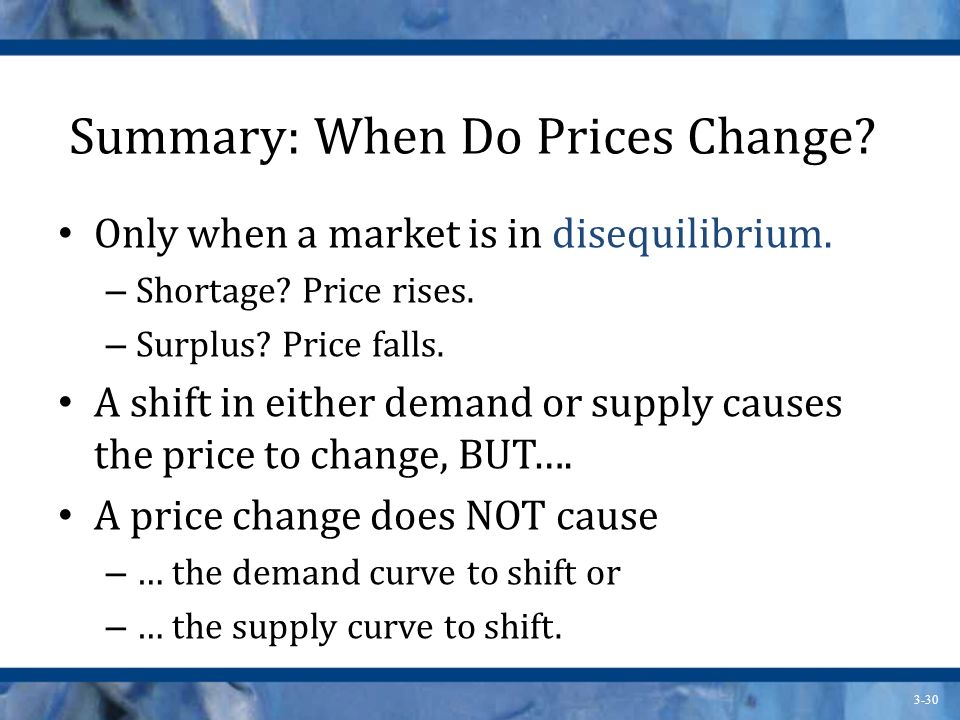 Summary: When Do Prices Change