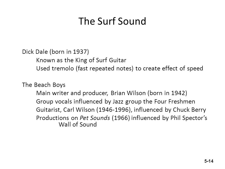 The Surf Sound