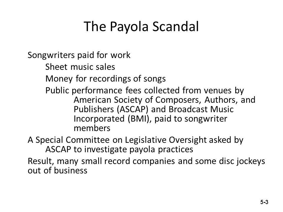 The Payola Scandal
