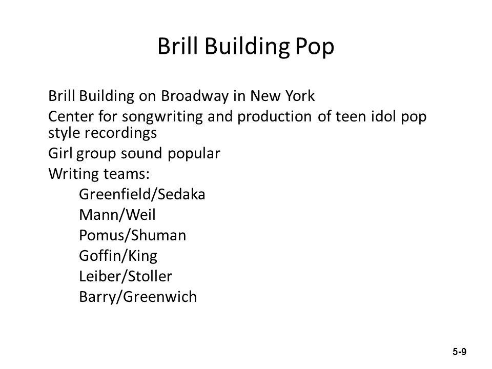 Brill Building Pop
