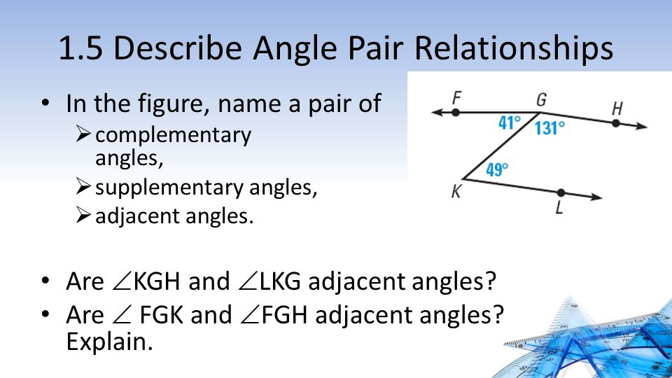 how to find the complement and supplement of an angle