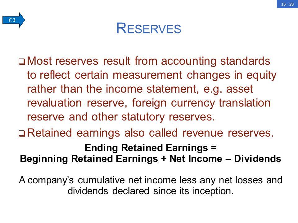 Reserves C3.