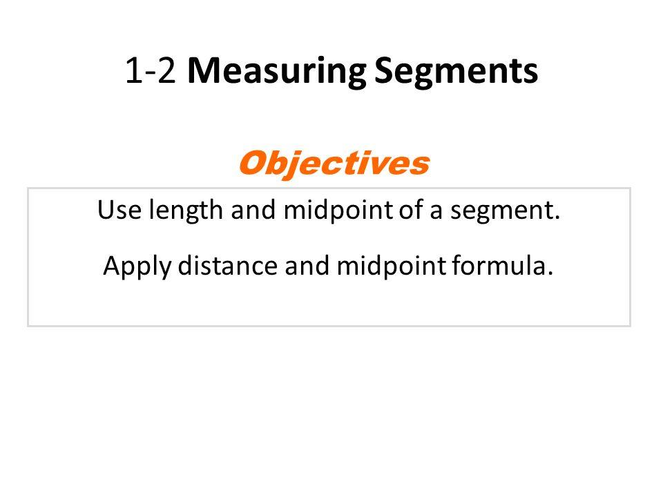 1.3 Geometry - Measuring Segments - YouTube