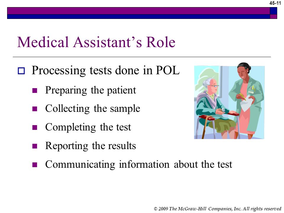 Medical Assistant's Role