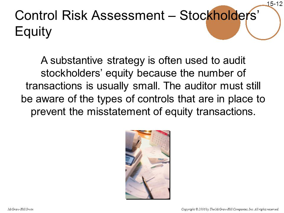 Control Risk Assessment – Stockholders' Equity