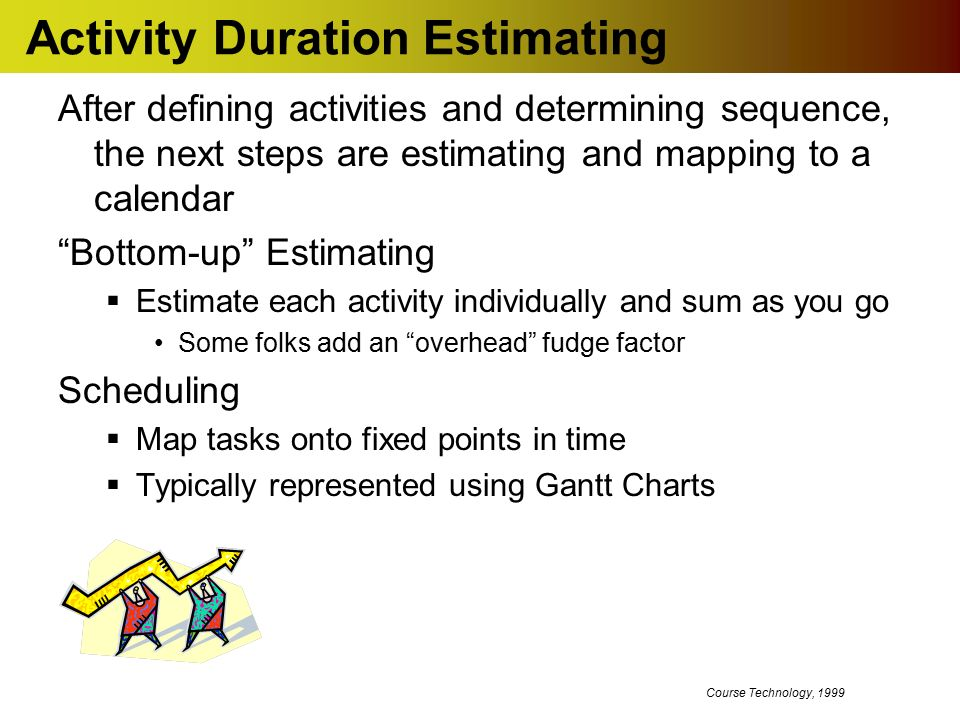Software Project Management Task Estimating and Scheduling - ppt ...