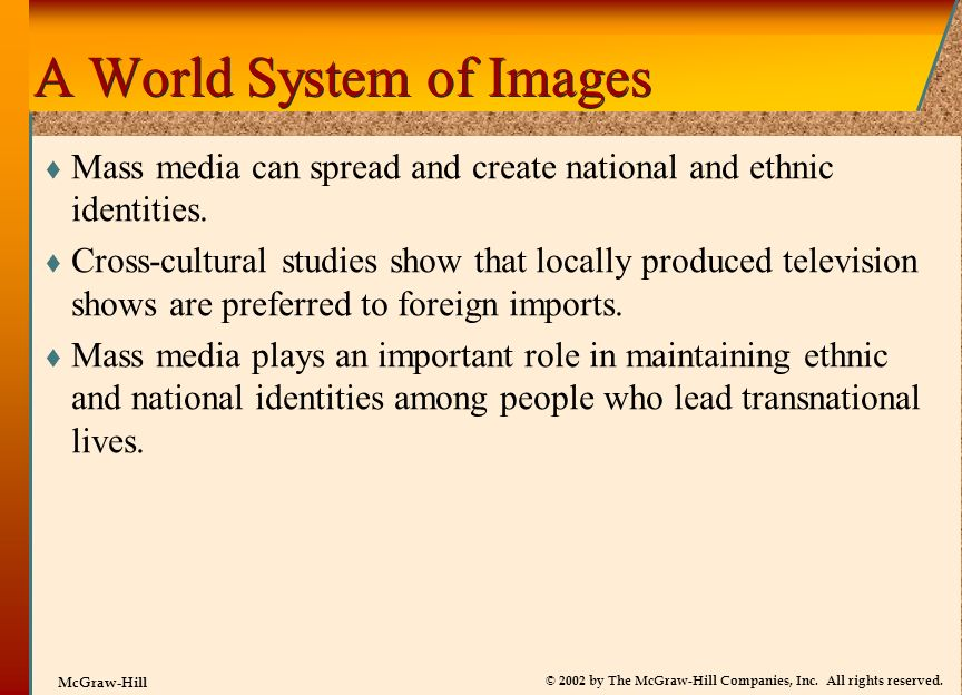 A World System of Images
