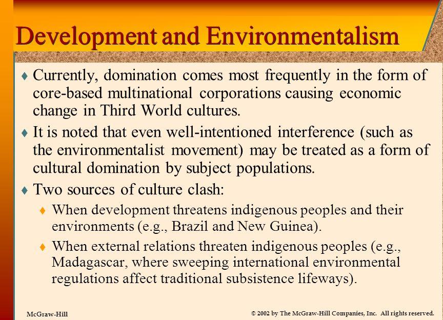 Development and Environmentalism