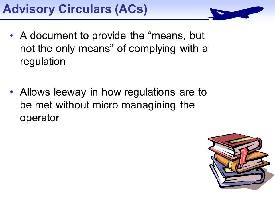 Advisory Circulars 29 Acs Federal Aviation