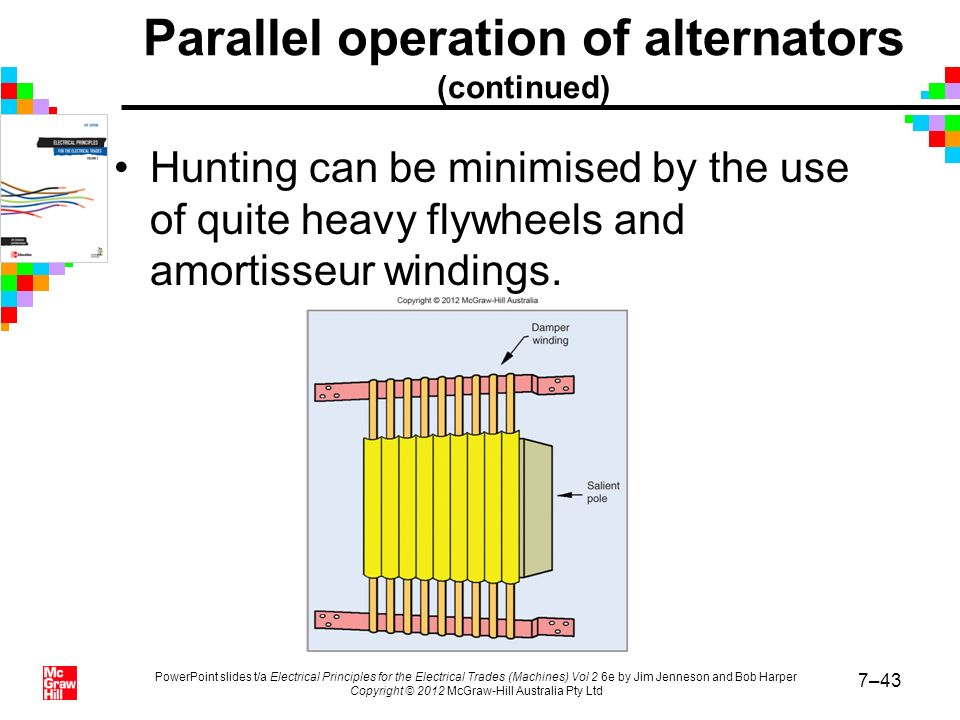 alternator and parallel operation experiment In the presentation all about, the operation of parallel system of two alternators and in the sense how in power plants, they utilize it in their sensitivity t.