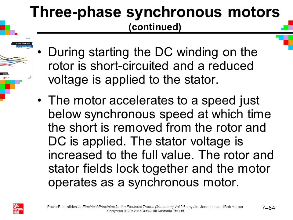 Chapter 7 synchronous machines ppt video online download for Synchronous motor speed control method