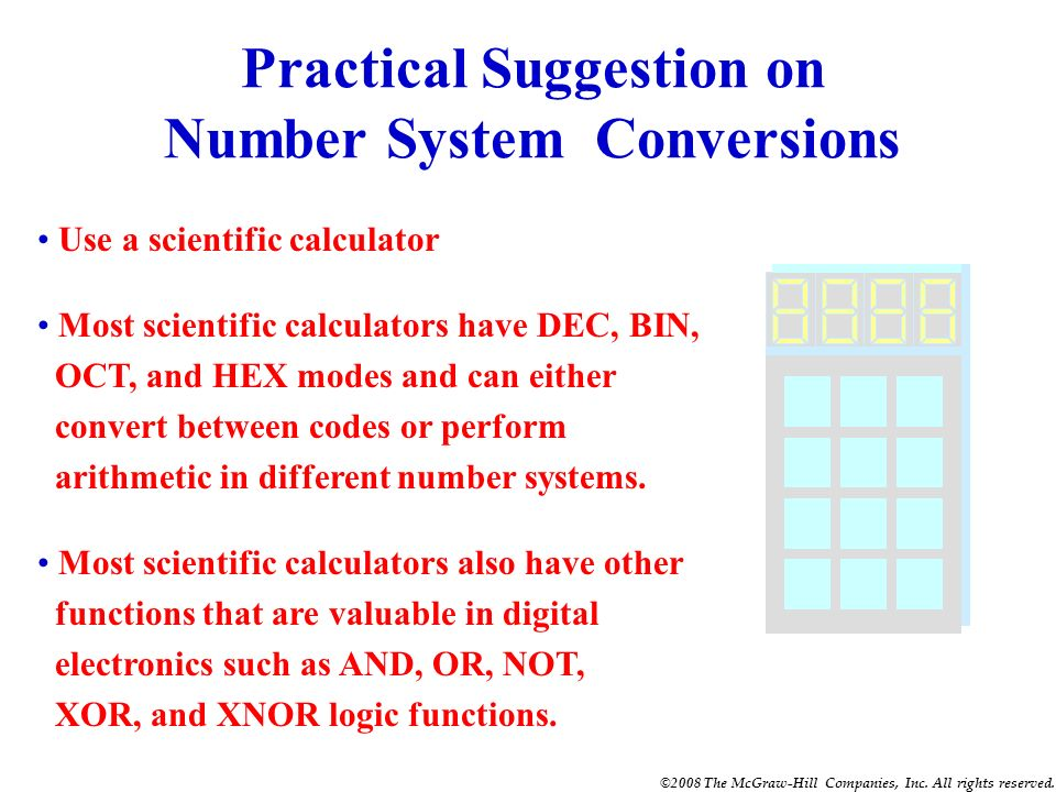 Practical Suggestion on Number System Conversions