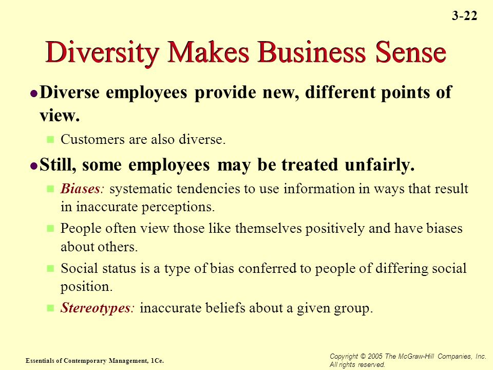 Diversity Makes Business Sense