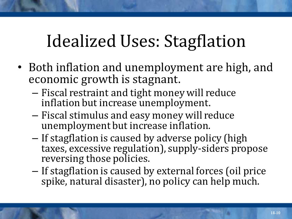 Idealized Uses: Stagflation
