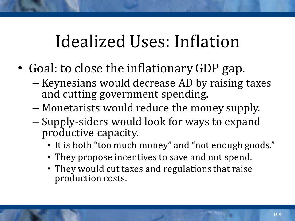 Idealized Uses: Inflation