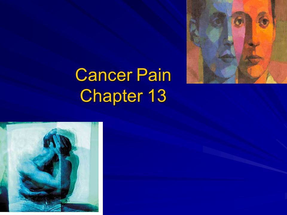 Cancer Pain Chapter 13