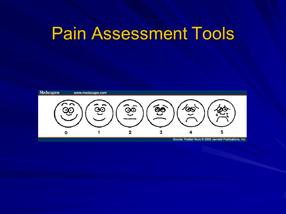 Pain Assessment Tools