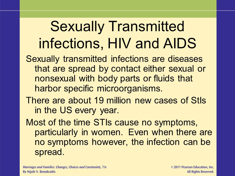 HIV, Sexually Transmitted Diseases and Viral Hepatitis