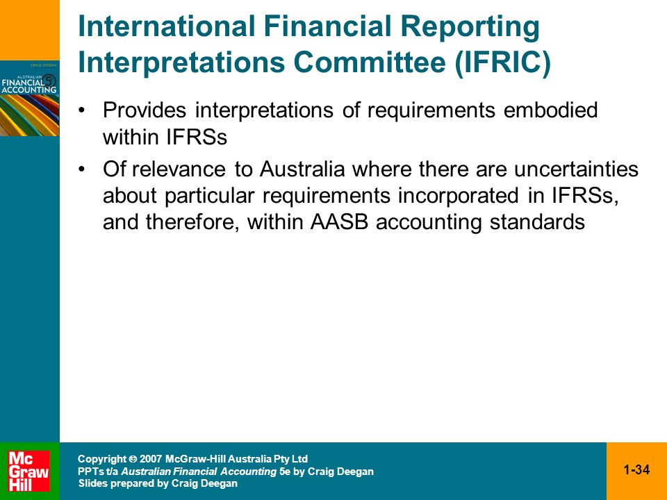 International Financial Reporting Interpretations Committee (IFRIC)