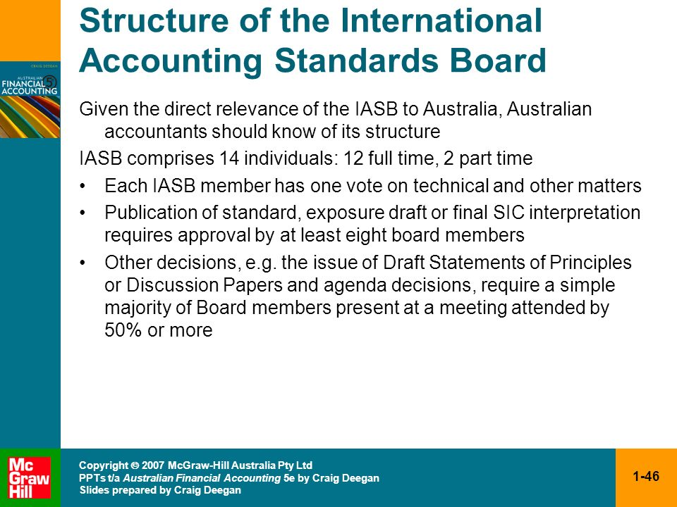 Structure of the International Accounting Standards Board