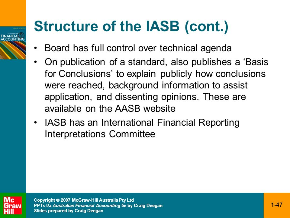 Structure of the IASB (cont.)