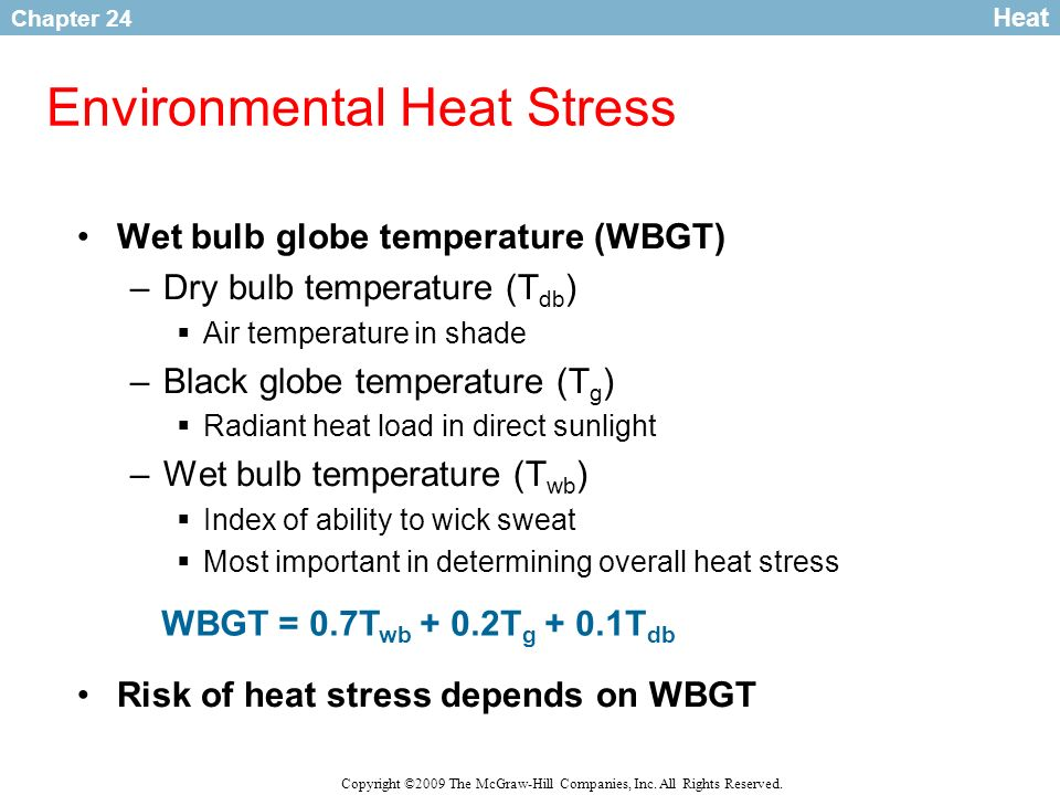 Environmental Heat Stress