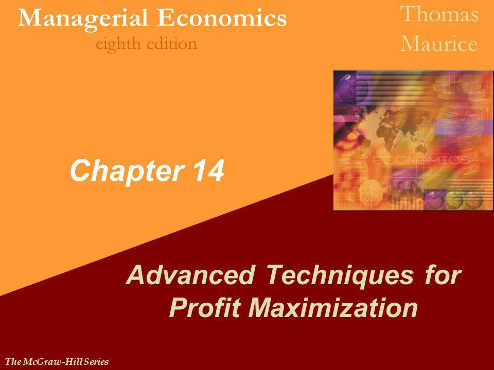 Advanced Techniques for Profit Maximization