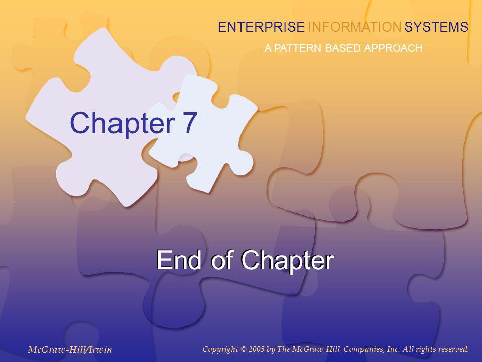 Chapter 7 End of Chapter