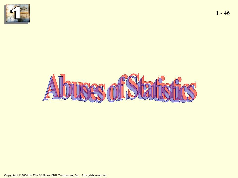 Abuses of Statistics