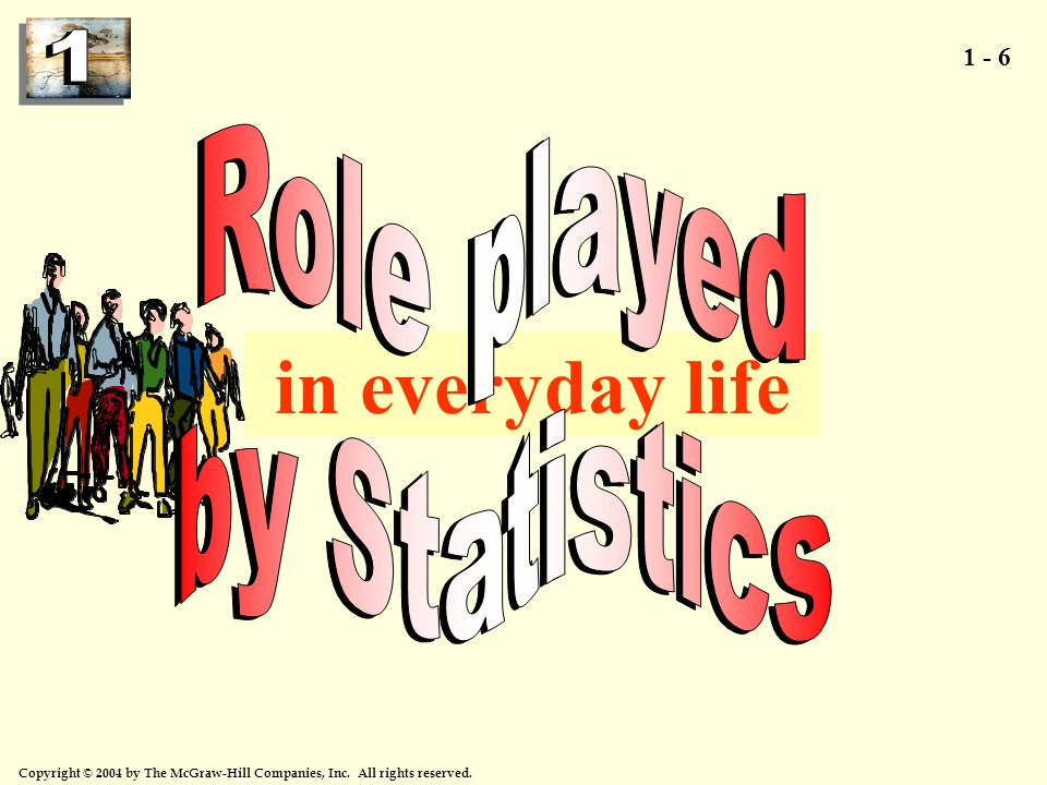 Role played by Statistics in everyday life