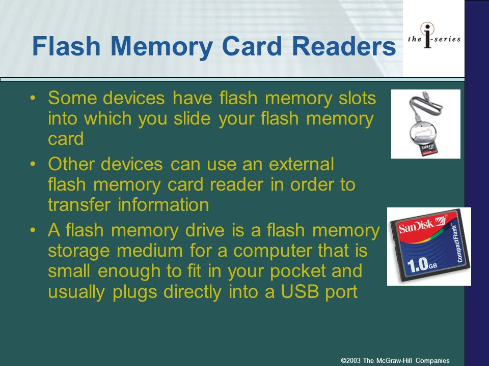 Flash Memory Card Readers