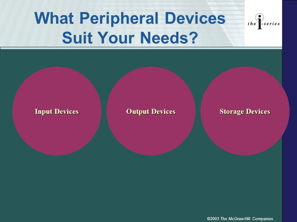 What Peripheral Devices Suit Your Needs