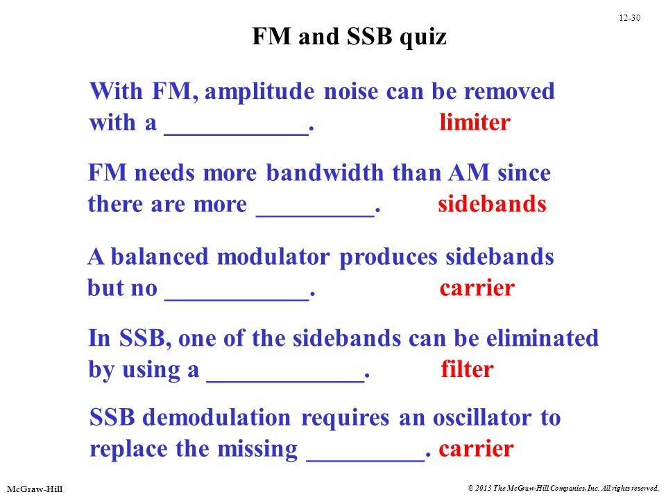 With FM, amplitude noise can be removed with a ___________. limiter