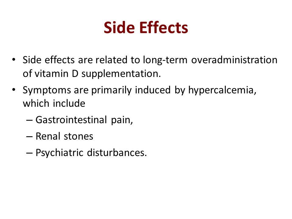 secosteroid side effects