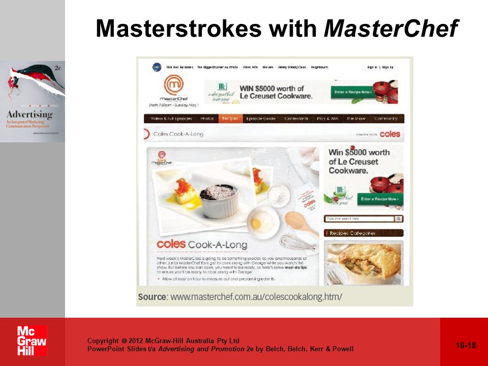 Masterstrokes with MasterChef