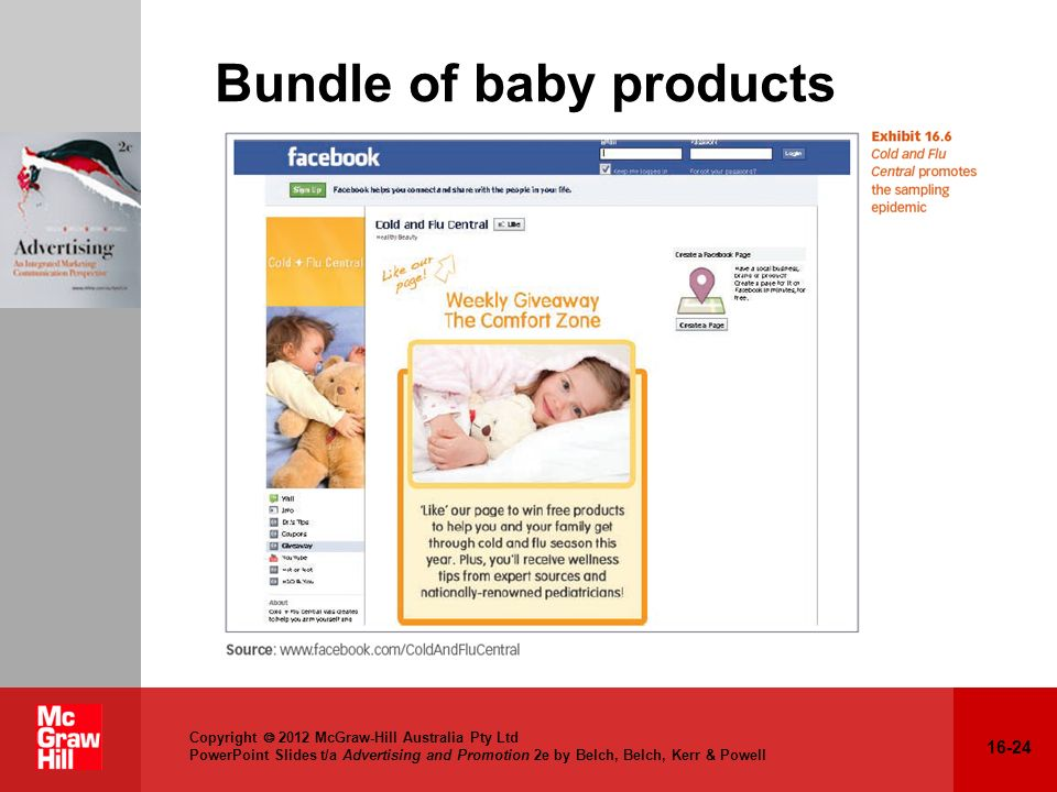 Bundle of baby products