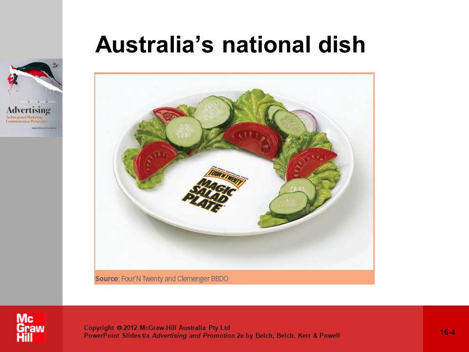 Australia's national dish
