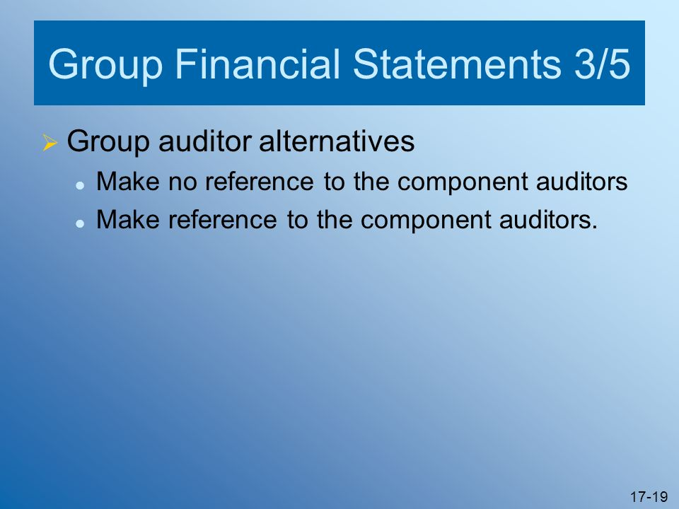 Group Financial Statements 3/5