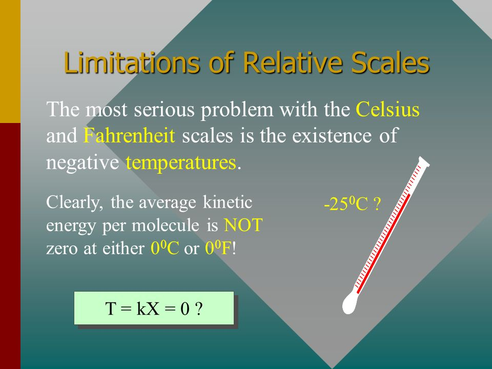 Limitations of Relative Scales
