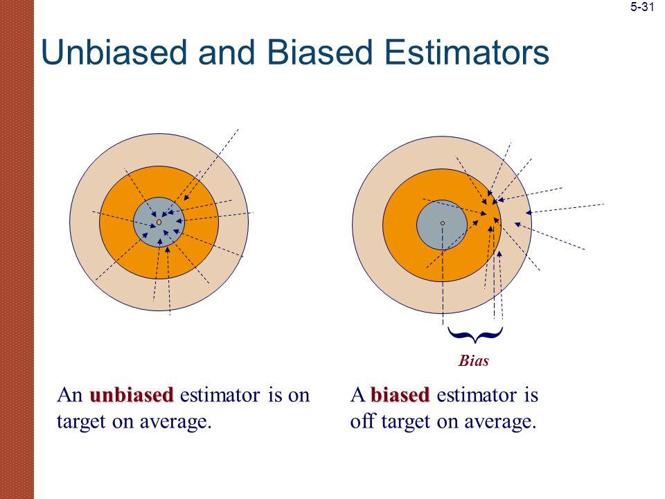 Unbiased and Biased Estimators