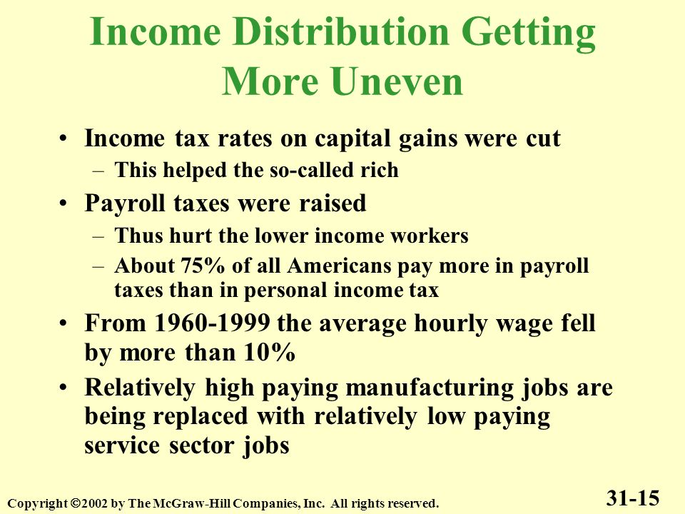 uneven income distribution in india The unequal distribution of household or individual income across the various participants in an economy income inequality is often presented as the percentage of.