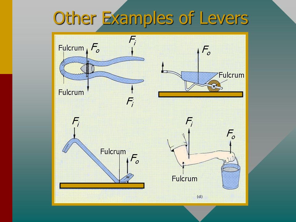 Other Examples of Levers