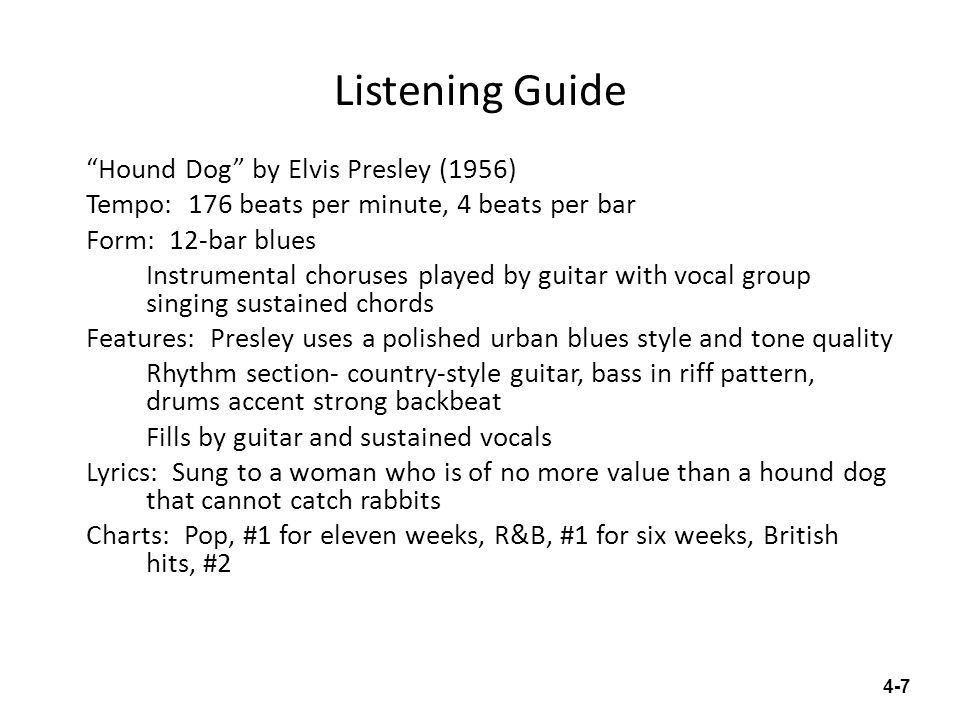 Chapter 4 Early Rock And Roll Ppt Video Online Download
