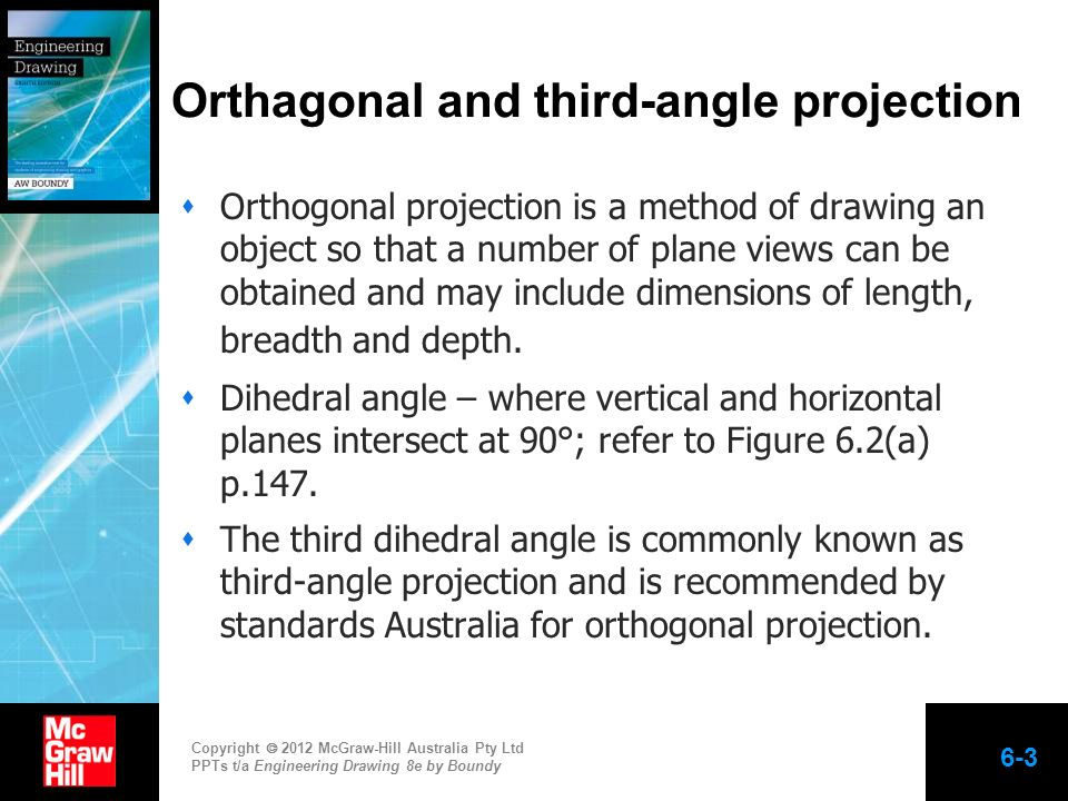 Orthagonal and third-angle projection