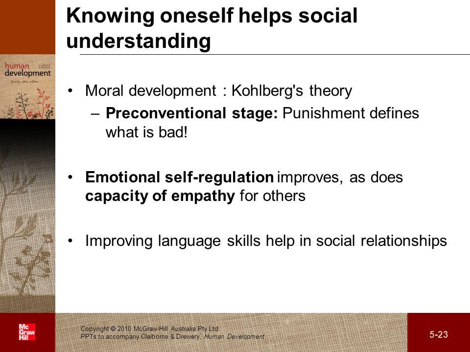 Knowing oneself helps social understanding