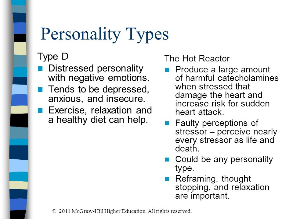 Personality Types Type D