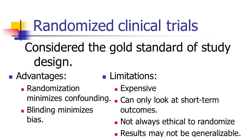 how to keep the blind in clinical trials