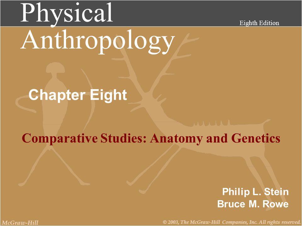 Comparative Studies: Anatomy and Genetics