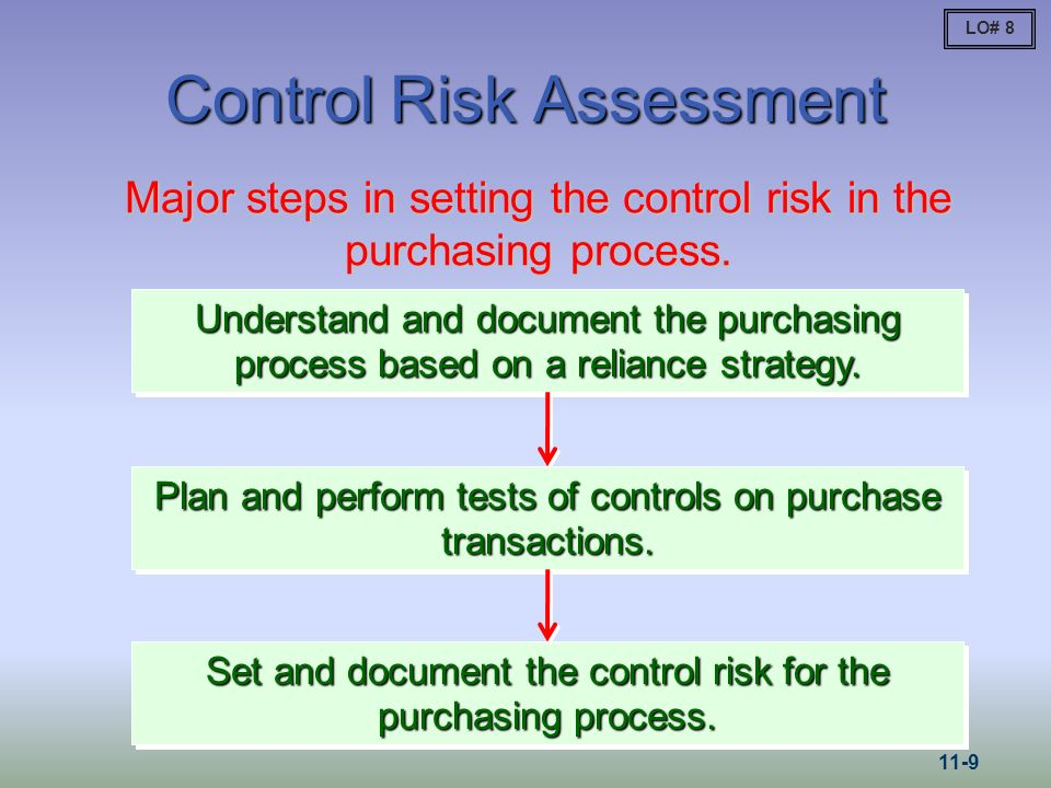 Control Risk Assessment